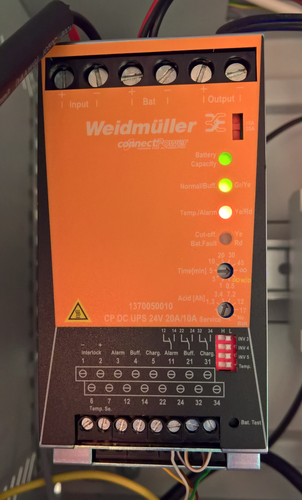 Weidmuller ConnectPower DC UPS 24V