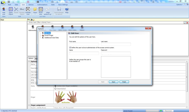 eKey net admin