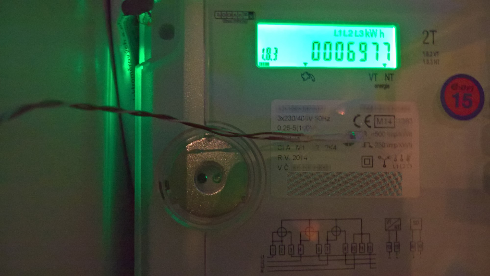 Increasing Electricity Meter : Connecting your electricity meter to loxone smarthome exposed