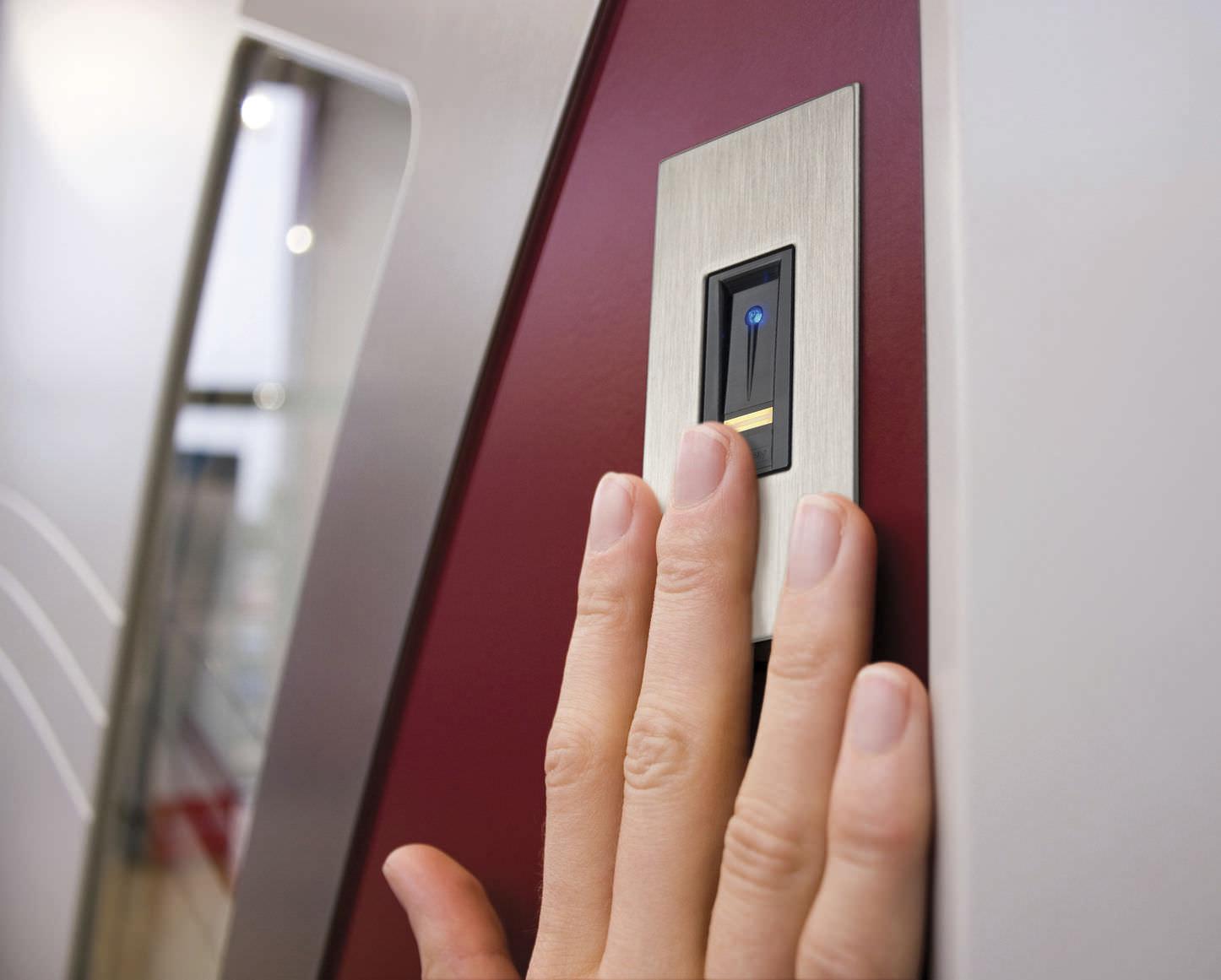 Finger scanner integration