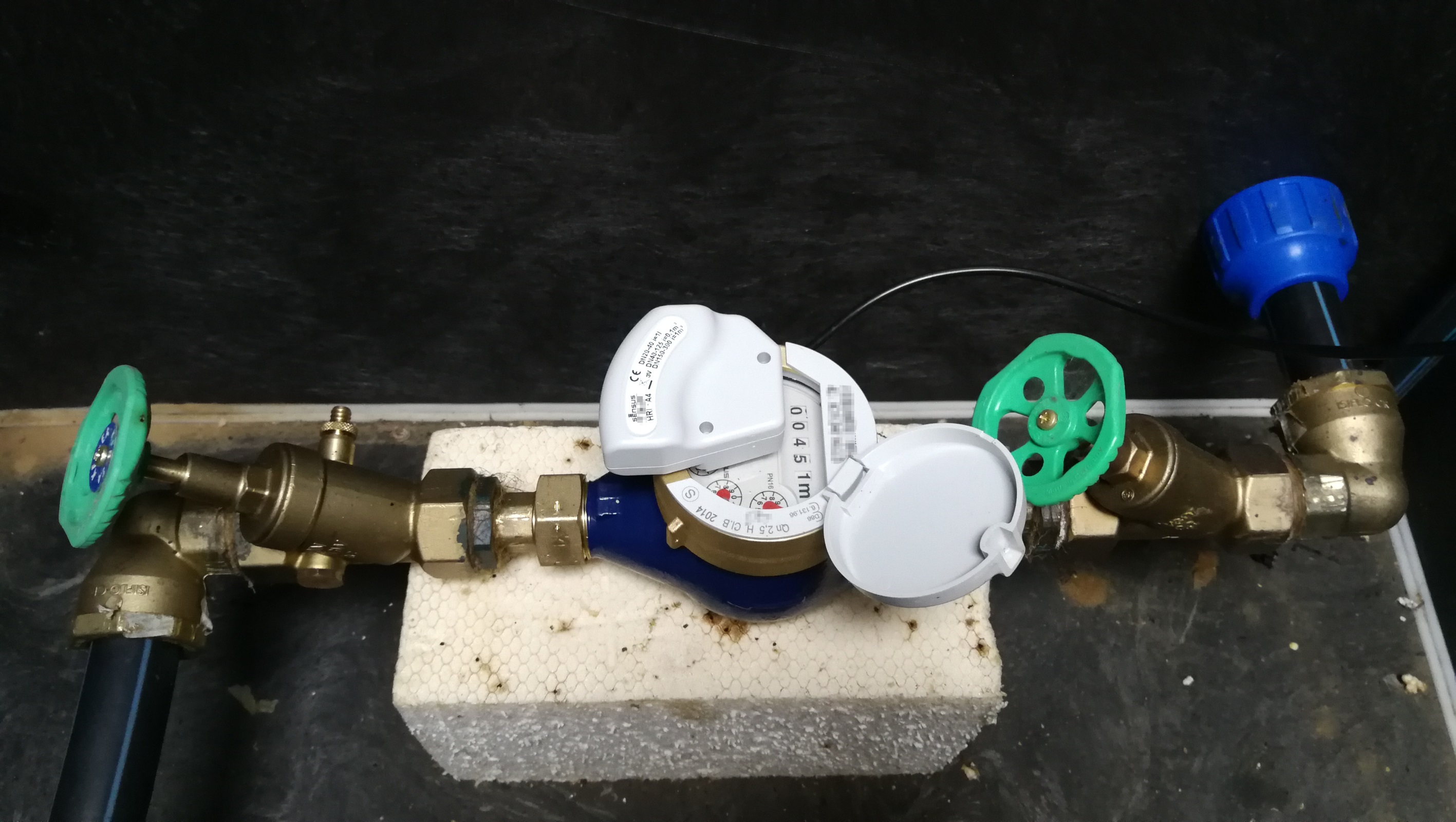Connecting your water meter