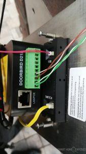 DoorBird D2101V connections