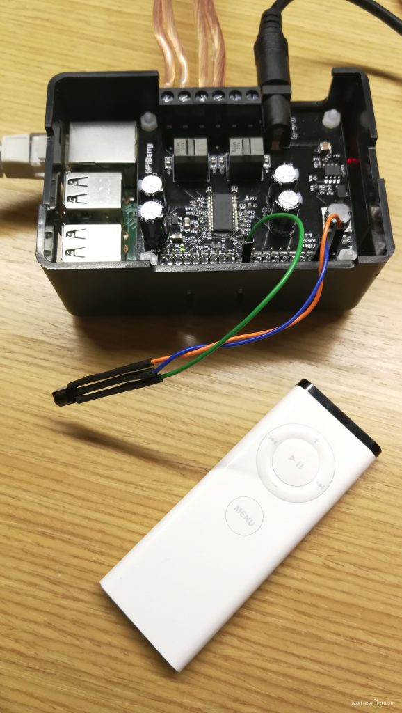 Infrared remote for HiFiBerry | SmartHome Exposed