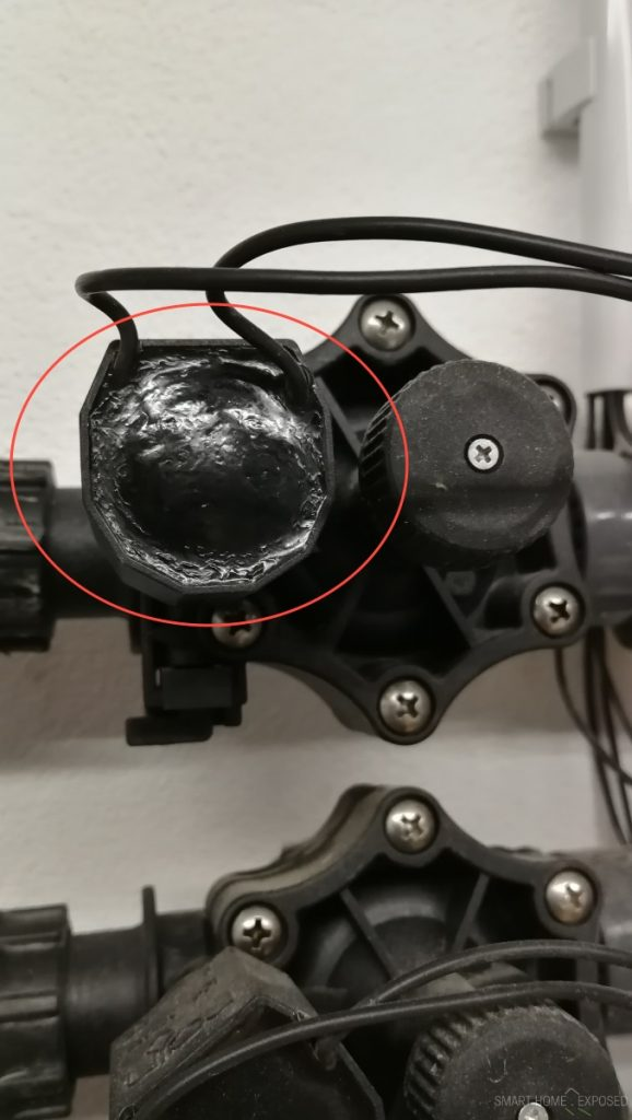 Solenoid overheating on DC! Is must be connected to AC as originally designed.