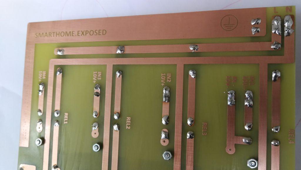 Solenid valve control board