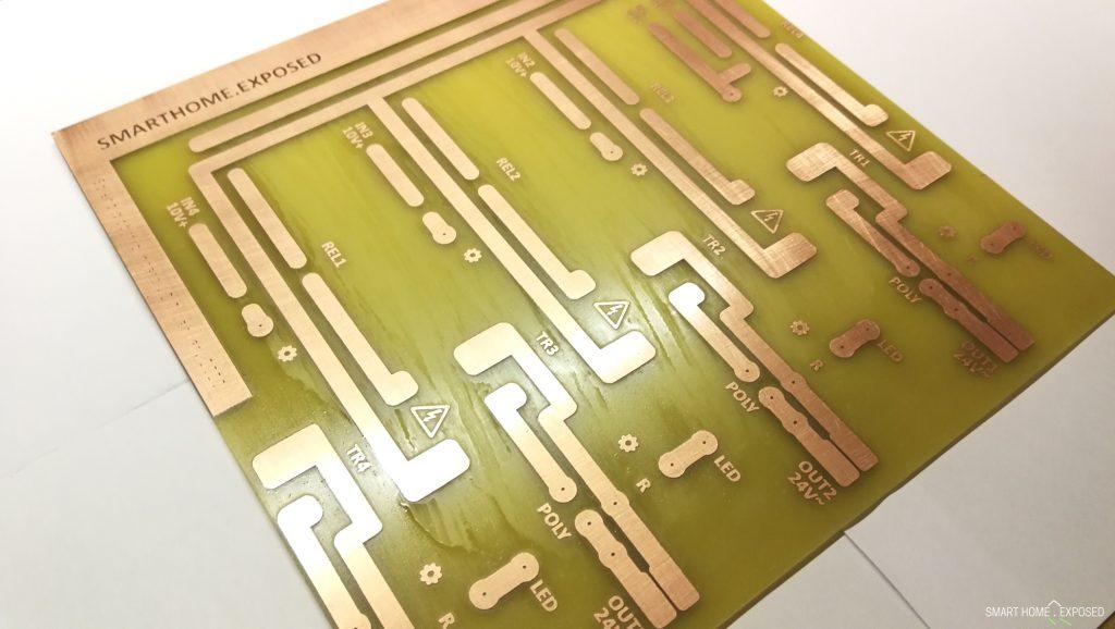 Solenid valve control board (PCB)